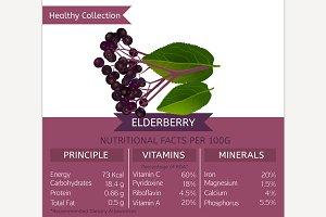 Elderberry Nutritional Facts
