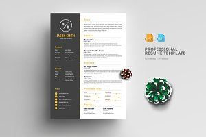 Creative Clean Resume