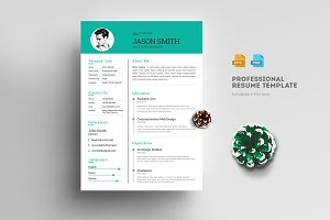 Modern & Clean Resume/CV