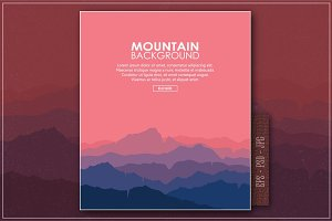 Mountain Landscape (eps/psd/jpg)