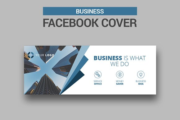6 business facebook covers facebook templates creative market flashek Choice Image