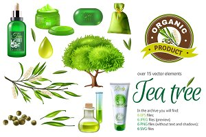 Tea Tree Products Set