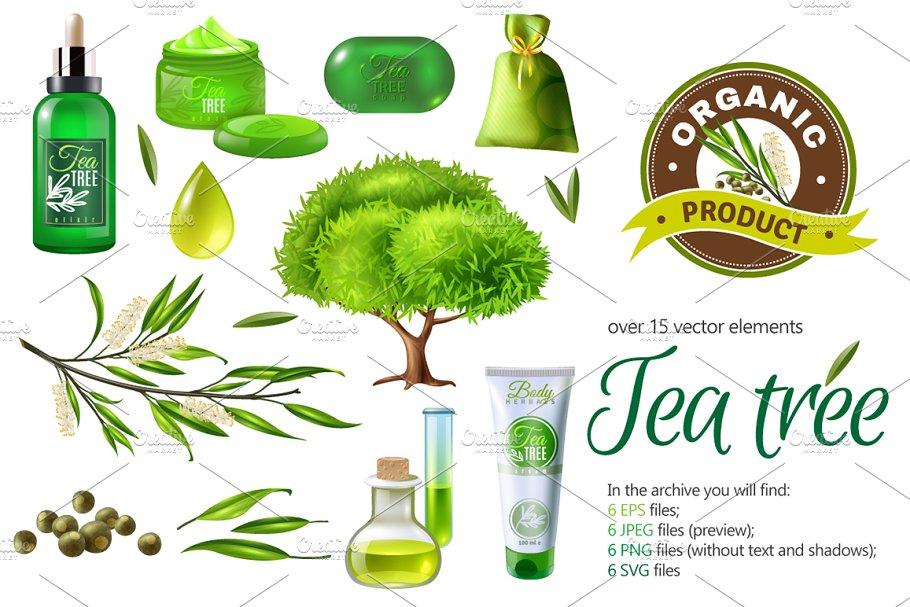 Tea Tree Products Set