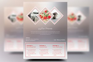 Photography Pricing Flyers