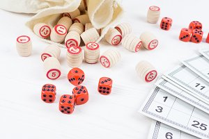 Board game lotto