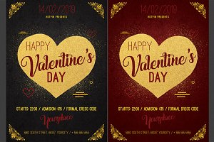 Valentines Day Psd Flyer
