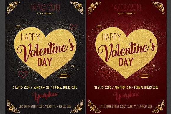 Valentines Day Psd Flyer