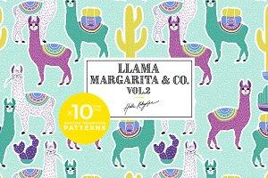 Llama Margarita vol.2 pattern