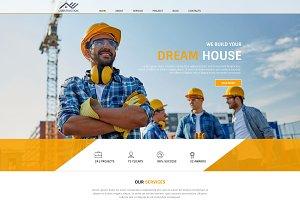 Dream House - Psd Web template