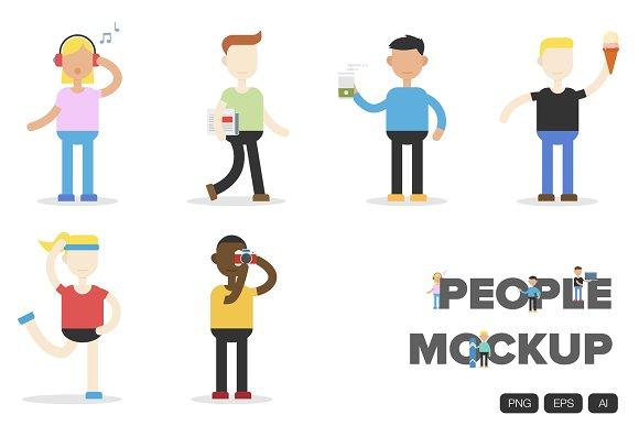 24 People Mockup