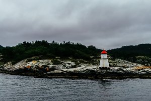 Lighthouse in Norway