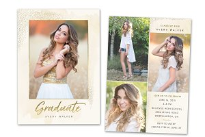 Graduation Announcement Senior Card