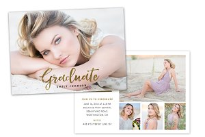 Graduation Announcement Template