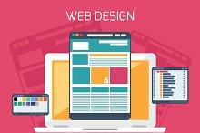 Web design. Program for design