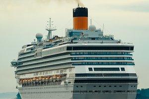 Large royal cruise liner