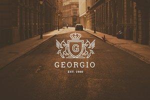 Letter G Logo - Heraldry Crest Logo