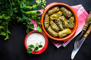 Dolma - traditional georgian dish