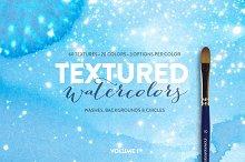 60 Textured Watercolors - Volume 1