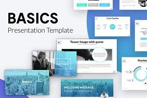 BASICS Keynote Template + Gift