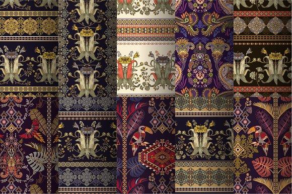 10 Vintage Decorative Patterns