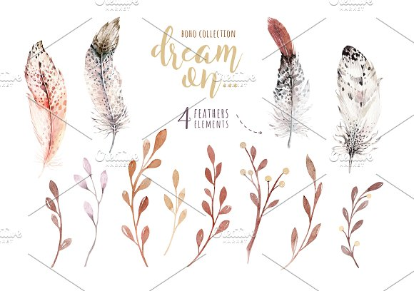 Watercolor cute owls in Illustrations - product preview 3