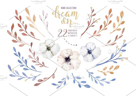 Watercolor cute owls in Illustrations - product preview 4