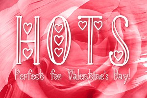 HOTS - Perfect Valentine's Day Font