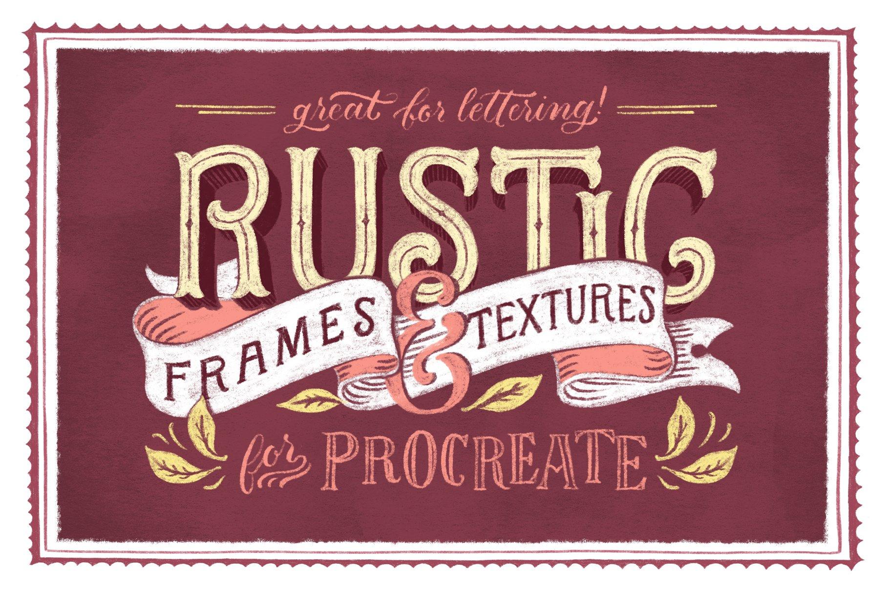 Rustic Frames & Textures - Photoshop ~ Textures ~ Creative Market