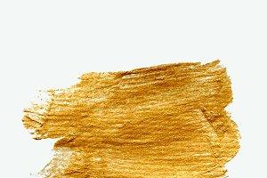 Realistic golden texture - vector