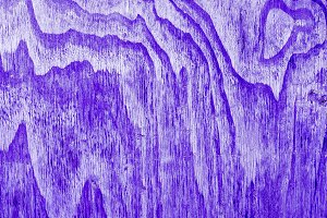Purple background. Wood. Minimal art