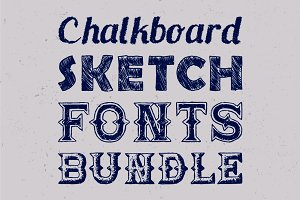 Sketch Fonts Bundle