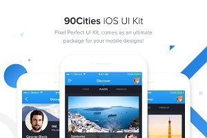 90Cities iOS Kit