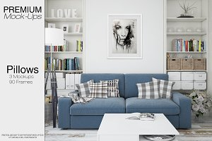 Pillows & Frames Mockup Set