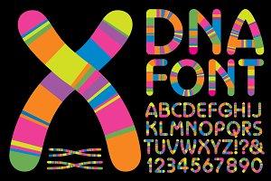 DNA Alphabet Design