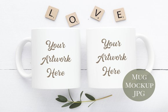 8 Mockups-Mugs, frames & card bundle in Product Mockups - product preview 1