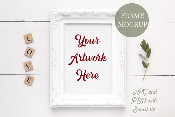 8 Mockups-Mugs, frames & card bundle in Product Mockups - product preview 3