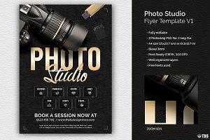 Photo Studio Flyer Template V1