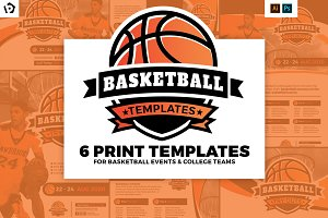 Basketball Templates Pack