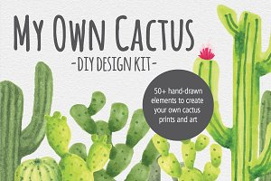My Own Cactus - DIY Design Kit