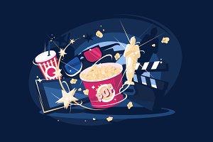 Cinema accessories