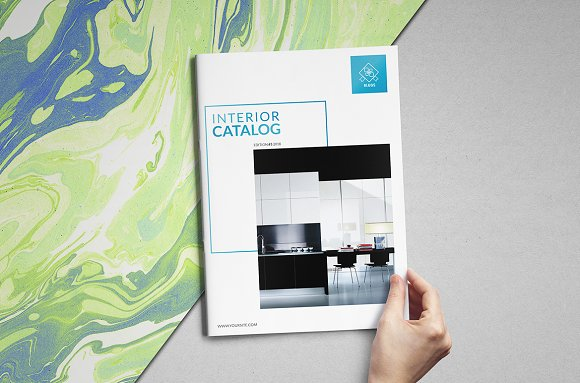 Interior Product Catalogs Brochure