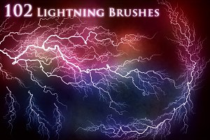 102 Lightning Electricity Brushes