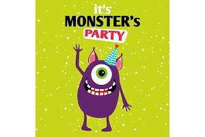 It is a party monster