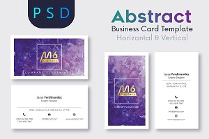 Abstract Business Card Template- S02
