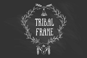 Collection of tribal frames