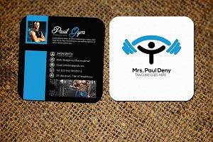 Gym Social Media Cards