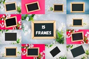 15 frameworks chalkboard
