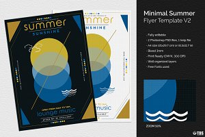 Minimal Summer Flyer Template V2