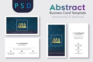 Abstract Business Card Template- S01