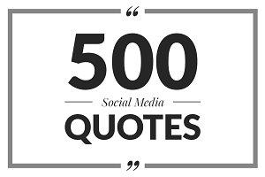 30% OFF 500 Social Media Quotes